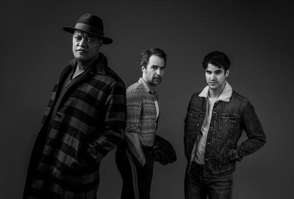 Laurence Fishburne, Sam Rockwell, Darren Criss Photo